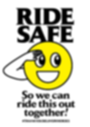 Thank You Delivery Heroes Ride Safe Poster
