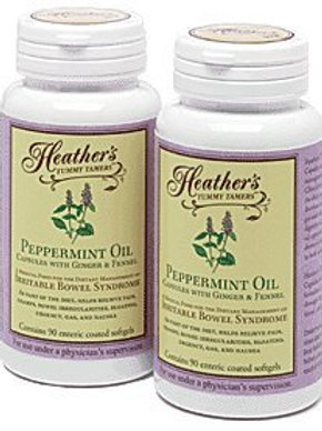 Heather's Tummy Tamers - Peppermint Oil Capsules