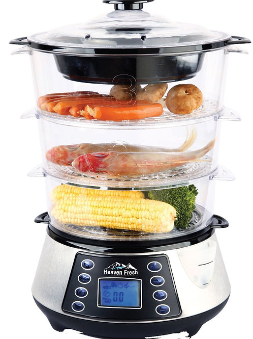Heaven Fresh NaturoPure Digital Food Steamer