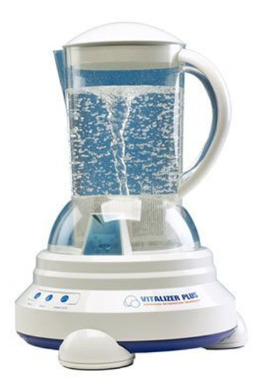 Vitalizer Plus Hexagonal Water Maker W/ 2 Cubes