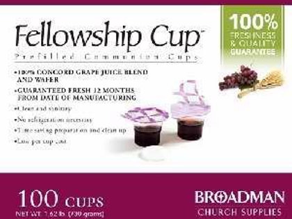 Fellowship Cup,Prefilled Communion Cup Juice/Wafer