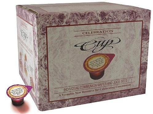 Celebration Cups Wafer and Juice Communion Set