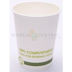 World Centric's 12 Ounce Coffee Hot Cup (200 Pack)