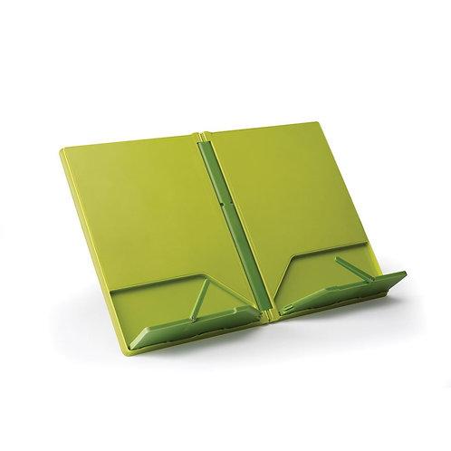 Cookbook Compact Folding Bookstand, Green
