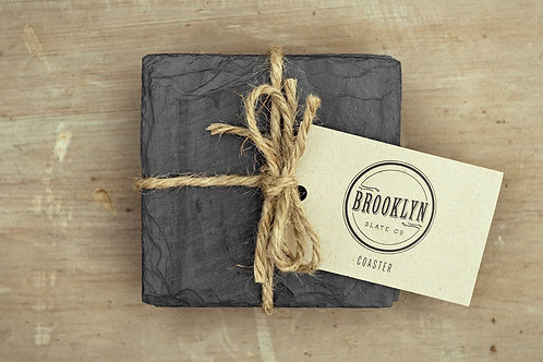 Brooklyn Slate Beverage Coasters