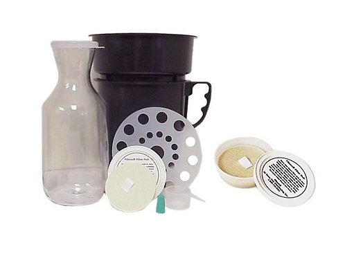 Filtron Cold Water Coffee Brewer w/ 2 Filter Pads
