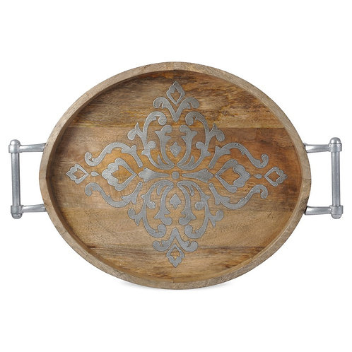 GG Collection Large Oval Tray
