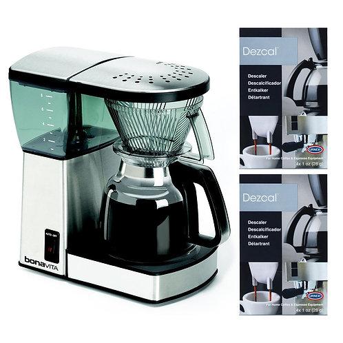 Bonavita 8 Cup Coffee Maker With Glass Carafe