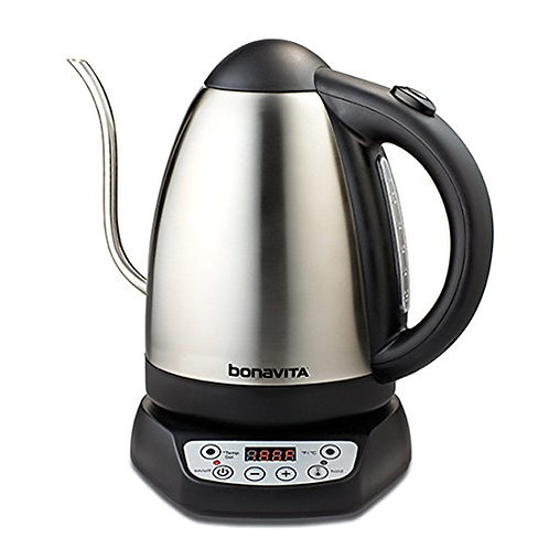 Bonavita 1.7 Liter Variable Temperature Digital Electric Gooseneck Kettle