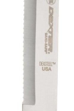 "Dexter 13563 SaniSafe Scalloped Utility Knife, 9"""