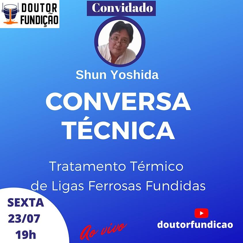 Conversa Técnica: 23/07/2021: Tratamento Térmico de Ligas Ferrosas Fundidas