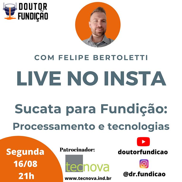 Live no Insta: 16/08/2021: Sucata para Fundição: Processamento e Tecnologias by Tecnova