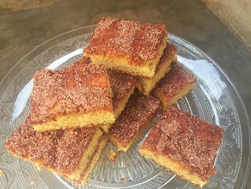 Barritas de Vainilla con Canela y Azúcar