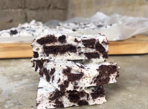 Barritas de Marshmallow y Oreo