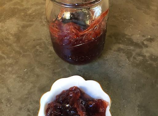 Mermelada de Cebolla al Cabernet (Microondas)