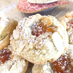 Galletas Deliciosas Con Damascos y Almendras