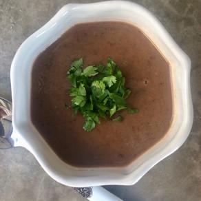 Sopa de Porotos Negros (Copycat Panera Bread)