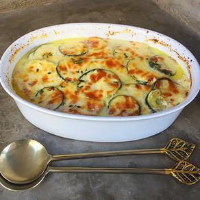 Zucchini a la Crema