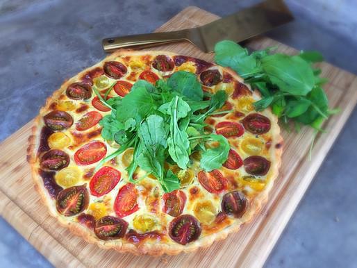 Tartaleta de Tomate, Albahaca y Ricotta