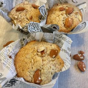 Muffins de Vainilla y Almendras