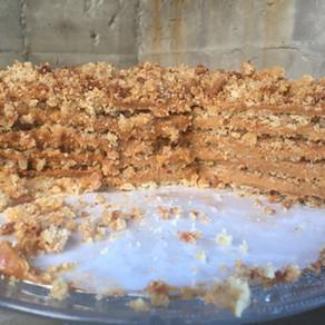 Torta Crocante de Nuez