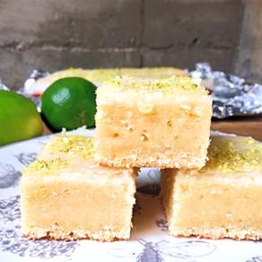 Barritas de Limon Sutil y Chocolate Blanco