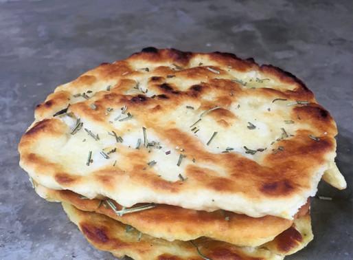 Pan al Romero y Sal para Aperitivo Express