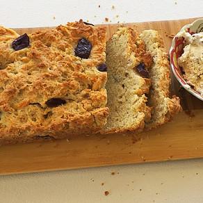 Pan de Queso Gruyere y Aceitunas