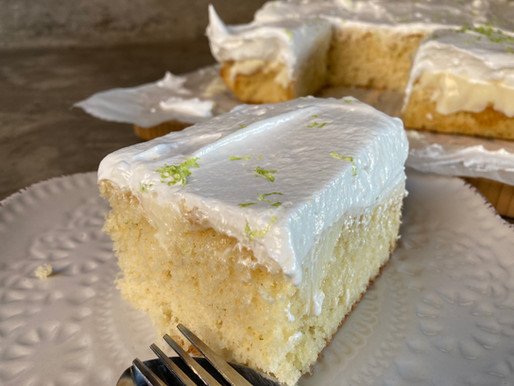 Delicioso Queque de Pie de Limón de Pica
