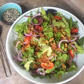 Deliciosa Ensalada Verde Asiática