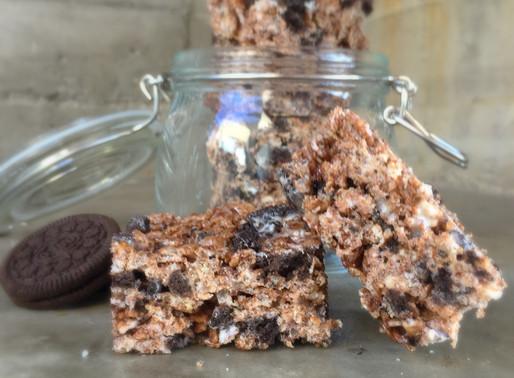 Barritas de Cereal Cookies and Cream