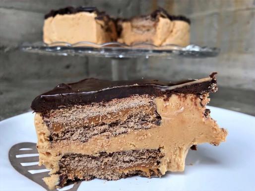 Torta Helada Alfajor