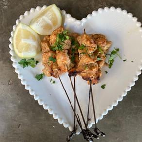 Kebabs de Pollo