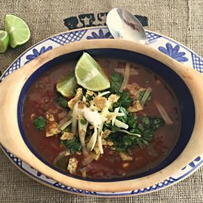 Sopa Mexicana de Tortilla
