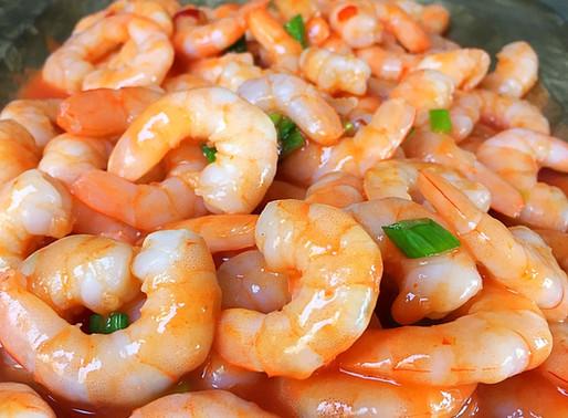 Camarones a la Sriracha