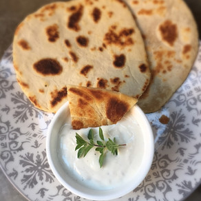 Salsa de Yoghurt y Horseradish