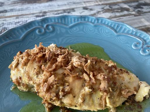 Pollo Fácil al Limón y Mostaza Dijon