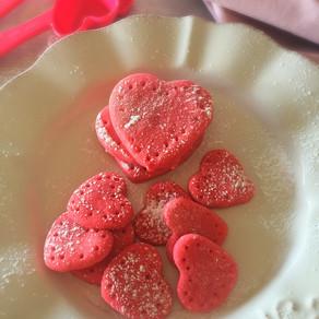Galletas de Corazón Rosadas Para Regalar!