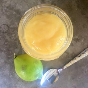 Crema Inglesa de Limón (lemon curd) en el Microondas