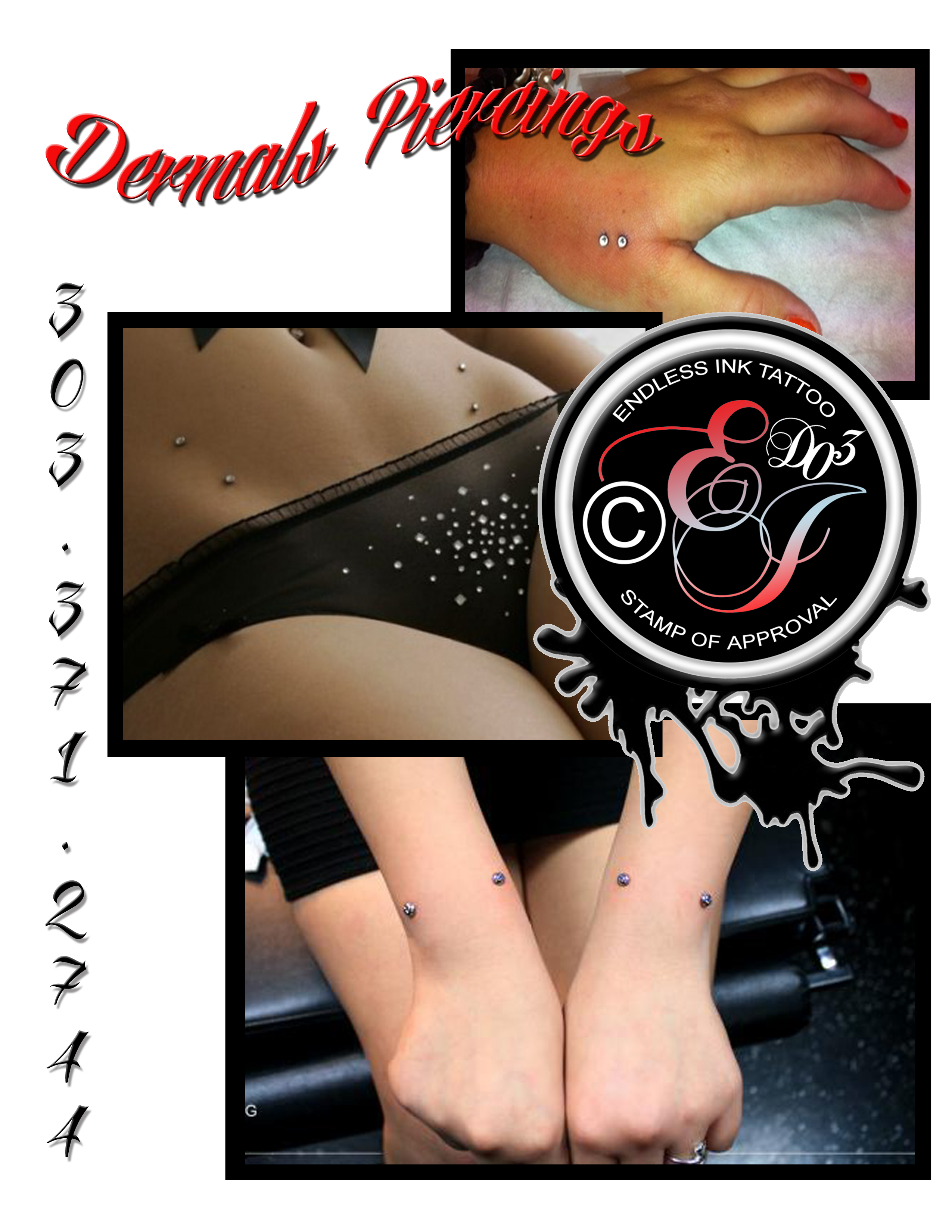 #Dermals #Best #Sexy #Denver #Endless #Piercing #Body #Piercings #Colorado #Hot
