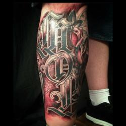 Shin Tattoo