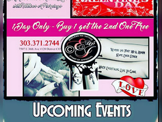 💋Buy 1 Get 1 Free - Book Online💋www.endlessinktattoo.com❤ Love! Valentine's Day is coming...In