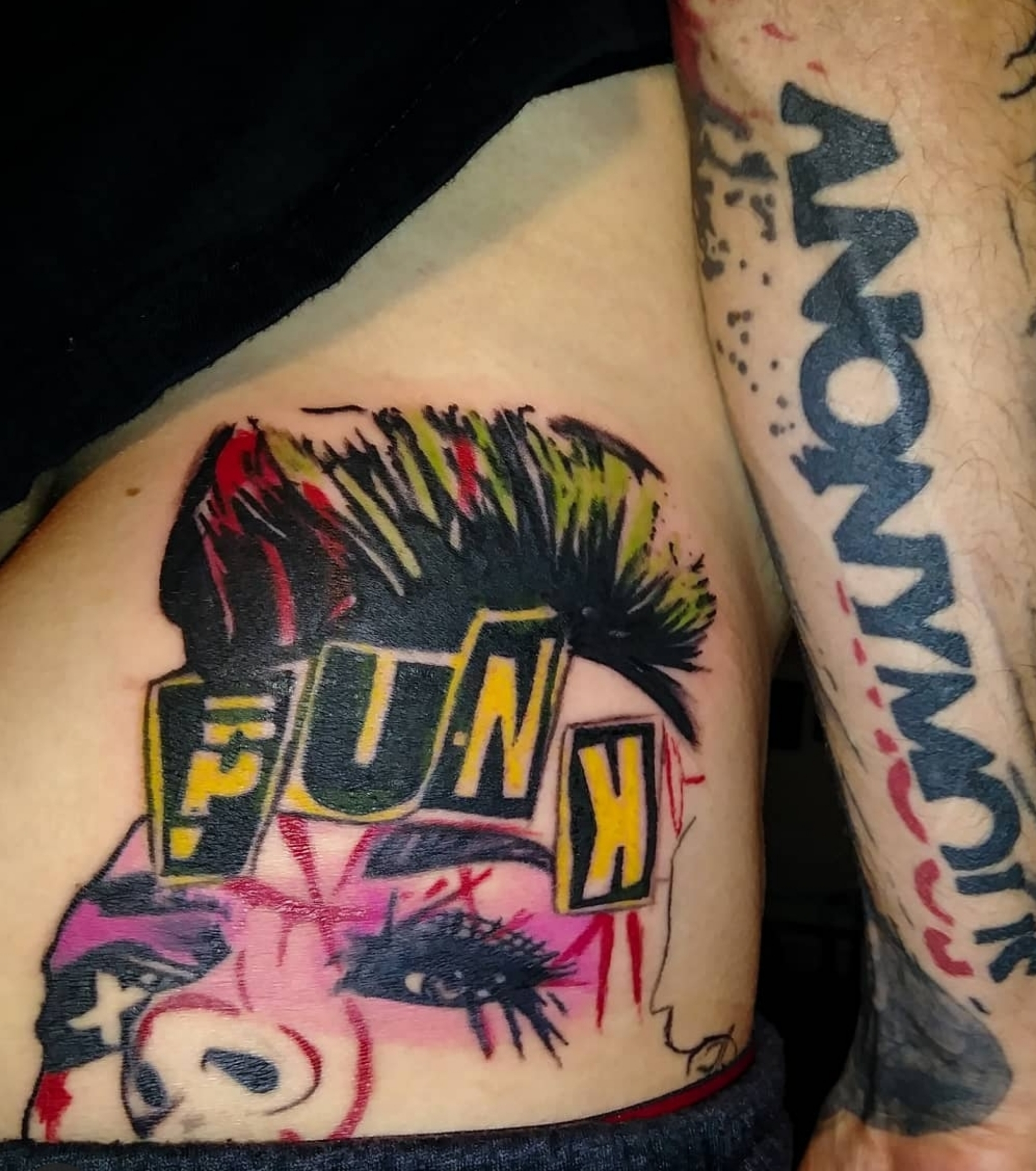 Punk Tattoo