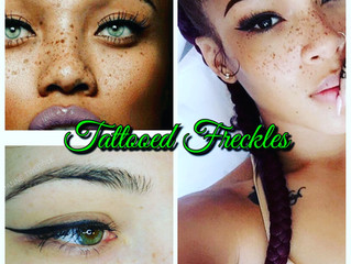 🌞The Sexy New Hot Summer Thang!🌞Tattooed Freckles...After all, what gives a face more character th