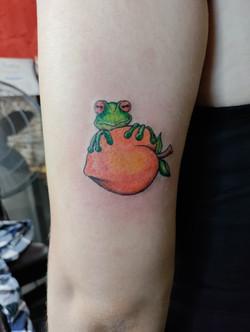 Frog Peach