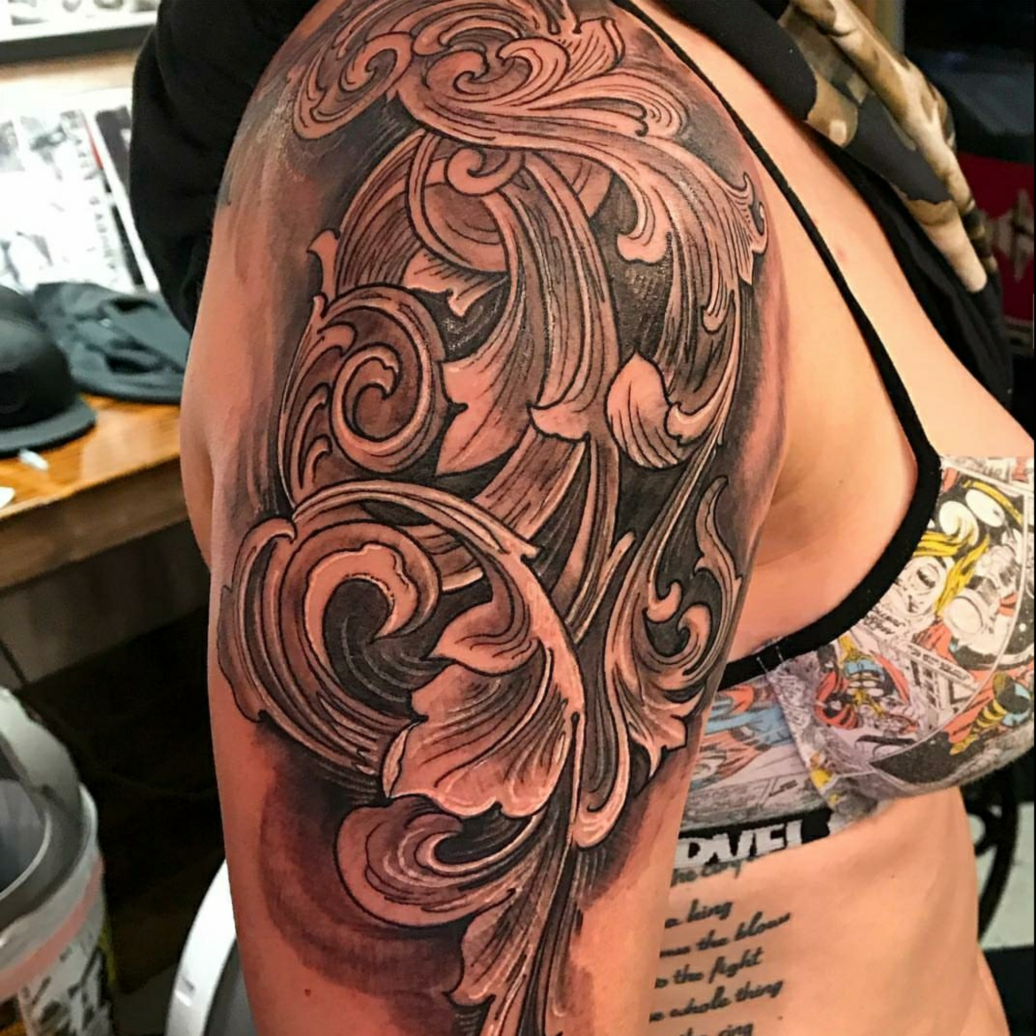 Filigree Tattoo