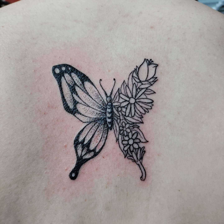 Linework Butterfly