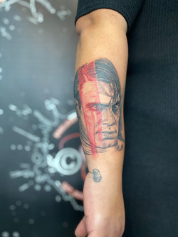 Man Portrait Tattoo