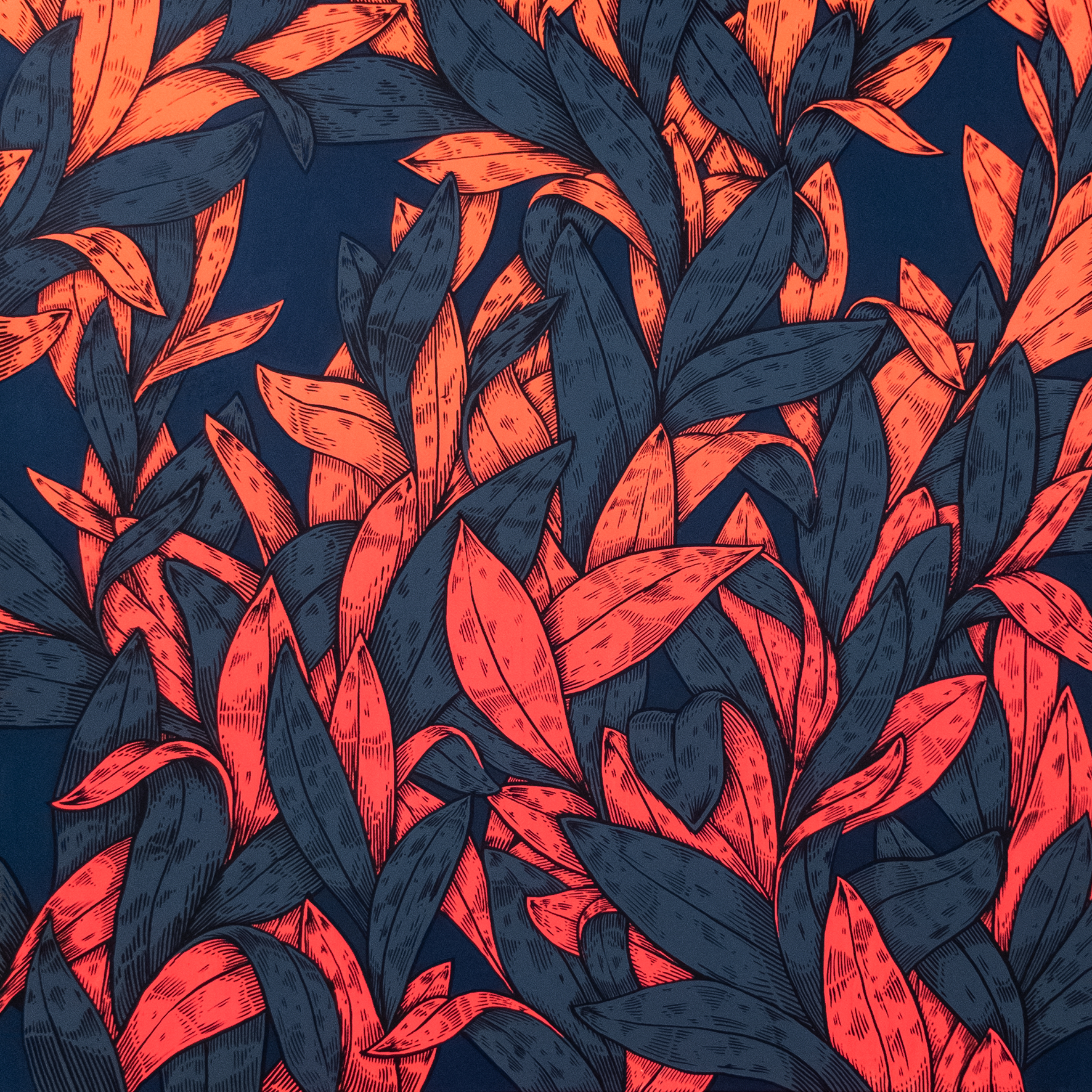 disco leafes orange
