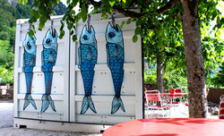 Fischcontainer side
